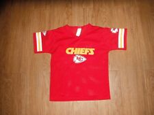 Vtg Kansas City #25 FRANKLIN Football Jersey Boys Small Football NFL!