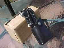 New Old Stock Leather 2-Way Motorola Holster Leathersmith Usa #5578A Top Quality
