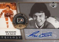 06-07 Trilogy LEGENDARY SCRIPTS xx/50 Made! Reggie LEACH - Flyers