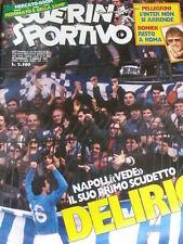 Guerin Sportivo 9 1987 Napoli vede il suo primo scudetto - IFK Goteborg Zenga Bo