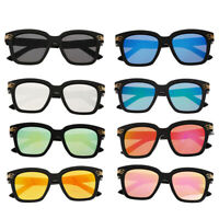 Kids Sunglasses Boys Girls Shades Lens Childrens Classic Vintage Holiday UV400