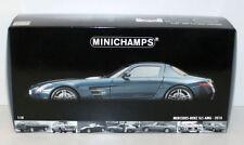 Voitures, camions et fourgons miniatures bleus MINICHAMPS