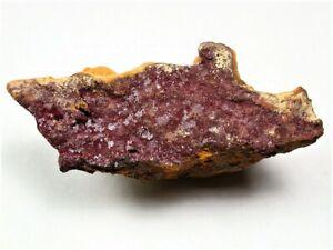 MINERALS : CUPRITE CRYSTALS ON MATRIX FROM COPPER QUEEN MINE, BISBEE, ARIZONA