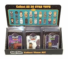 Star Wars Celebration VII 2015 Set Of 20 Star Tots And Display Collecting Track*