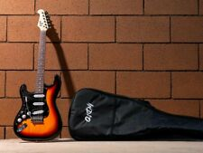Indio Cali Left-handed Sunburst Electric Guitar & Gig Bag