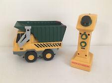 Rokenbok Junior 07100 Construction Dump Truck ROK JR Green & Yellow Remote Set
