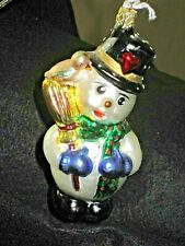 Old World Christmas By Inge Glas-Birgit Granddad'S Snowman