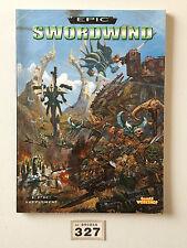 GAMES WORKSHOP WARHAMMER 40,000 SPACE MARINE EPIC SWORDWIND SUPPLEMENT BOOK