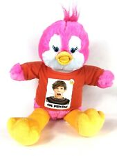 Vintage Pink Chick One Direction Teddy Bear ~ Build a Bear ~ 18 inch