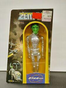 Vintage Star Team Zem-21 Robot Figure In Original Box Ideal 1977