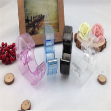 Sealing Packaging Parcel Plastic Width Tape Cutter Dispenser Random Color NICE