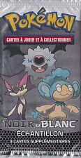 1x Booster Echantillon - N&B - Cartes Pokemon Neuves Française