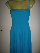 LADIES  BLUE MAXI DRESS SIZE 3X  / SIZE 12