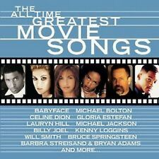 CD Album  The All Time Greatest Movie Songs ,  17 tracks