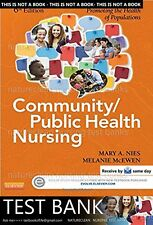 TEST BANK for Community/Public Health Nursing 6th Edition  (not Book)