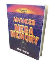 KEVIN TRUDEAU  Advanced Mega Memory Program on Cassette VHS Booklet set NEW