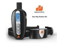 Remote Training Shock Collar Waterproof Pet Trainer for Small Medium Large Dog