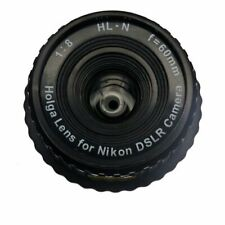 NEW Holga HL-N 60 mm f/8.0 Lens For Nikon BLACK