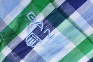 Gant Checked Short Sleeve Shirt Size XXL