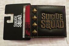 Suicide Squad Harley Quinn Stud Bi-Fold Wallet New