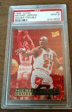 1995 Fleer Ultra Double Trouble Michael Jordan #3 PSA 9 Chicago Bulls LOW POP