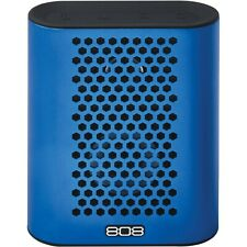 *BRAND NEW* 808 Audio HEX TLS Rechargeable Portable Speaker with Bluetooth-Blue