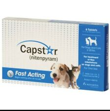 Novartis Capstar Blue for Small Dogs & Cats under 25 pounds 6pk (not In Box)