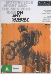 Bruce Brown's ON ANY SUNDAY DVD 1971 NEW Steve McQueen SUPER RARE + REVISITED