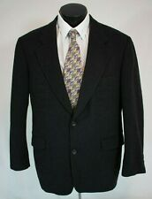 Ruffini Italy Cashmere Wool Sports Coat Jacket Black Mens 40R