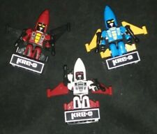Kre-o Kreons Dirge Thrust Ramjet Coneheads minifigures Transformers