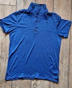 ICEBREAKER. Polo Shirt.. Tech Lite. MERINO Large.