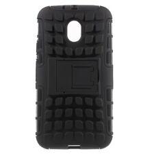 Motorola Moto G 3. Generation Outdoor Case Skidproof Profil Kickstand Schwarz