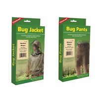 Coghlan's Bug Suit Pants & Jacket Medium Black Unisex Lightweight Mosquito Net