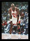 FRAMED Michael Jordan Chicago Bulls by Darryl Vlassak 24x18 Sports Art Painting