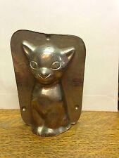 Cat Sitting Chocolate Mould Mold #16224 Vormenfabriek Tilburg,Holland