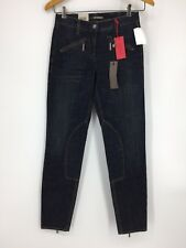 NEW!! $245 Cambio Jeans Womens Size 2 Skinny Saddle Dark Wash Jeans