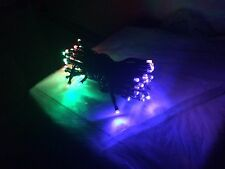 Color Solar Power 60 LED String Fairy Light For Outdoor Wedding Party Xmas