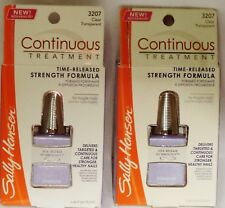 3 Sally Hansen Continuous Nail Strengthening Treatment Formula CLEAR #3207 NIP