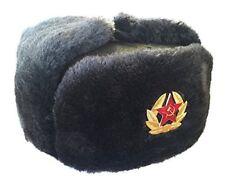 d46f0443f4c Russian Soviet Military Cossack Trapper Fur Ushanka Genuin Wool Size 60 (xl)