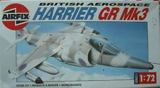 ++++ BAe HARRIER GR-3 + 1:72 SCALE SET by AIRFIX +++