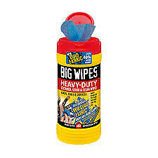Big Wipes Heavy-Duty Textured, Scrub & Clean Wipes For Hand, Tools, & Surfaces