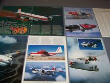 VINTAGE..1999 FEDERAL AIR TANKERS (FIRE BOMBERS).HISTORY/DETAILS ...RARE! (711F)