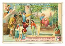 Chromos LIEBIG 1905 série 836 • le peintre Raphaël Chromolithographie début XXe