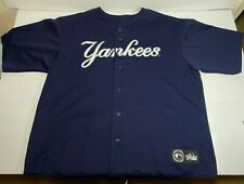 Rare VTG New York Yankees Spell Out Blank Jersey | Majestic Genuine Merch | 3XL