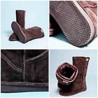 Lammfellstiefel Hedgehog Winterstiefel Fell-Stiefel Boots Gr. 37,38,39 braun