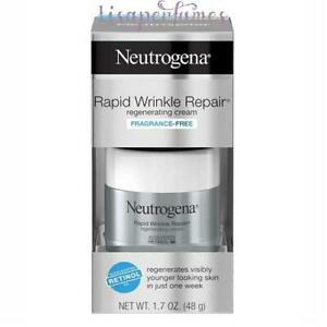Neutrogena Rapid Wrinkle Repair Regenerating Cream Fragrance Free 1.7oz / 48g