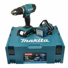 Makita 18V Akku-Schlagbohrschrauber DHP453RYLJ + Lampe & Makpac