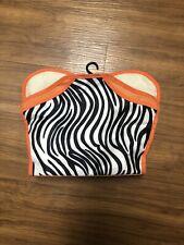Zebra Cosmetic Travel Case
