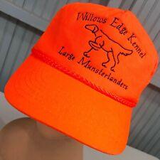 Willows Edge Kennel Large Munsterlander Wisconsin Snapback Baseball Cap Hat