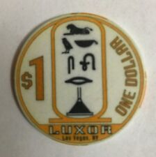 Luxor $1 Casino Chip Obsolete Old Las Vegas Egypt